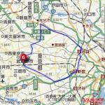 1000キロカロリー消費!!吉祥寺~新宿~池袋~成増コースがおすすめ