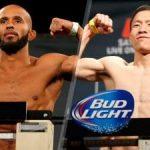 【UFC186】堀口恭司がデメトリアス・ジョンソンにラスト1秒で屈す