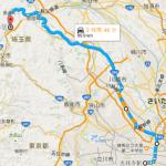 かき氷で有名な阿左美冷蔵(金崎本店)のアクセス(東京から川越経由)【サイクリング】