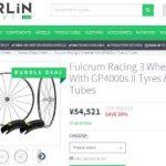 Fulcrum Racing 3のインプレ&Merlin cycleでセール
