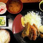 道の駅保田小学校へのアクセスとアジフライ定食