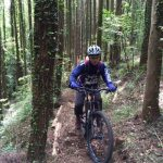 鹿野山でMTBトレイル&技術力不足が露呈
